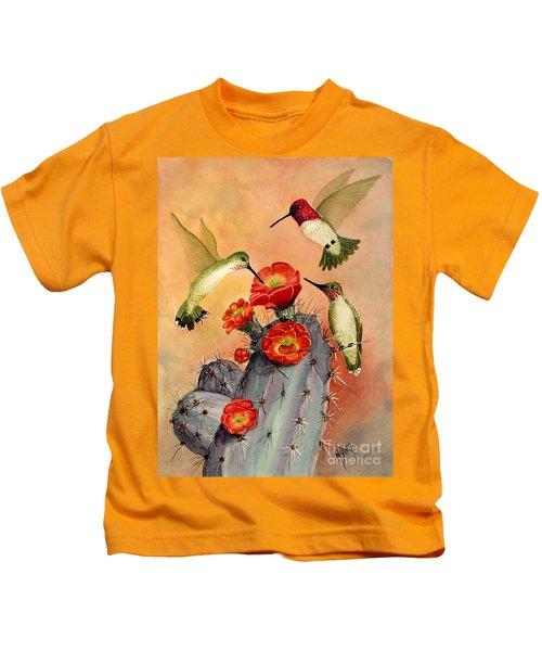 Three For Breakfast Kids T-Shirt