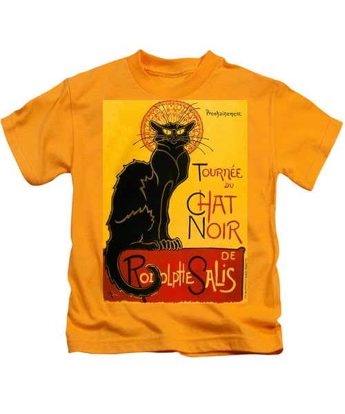 Tournee Du Chat Noir Kids T-Shirt