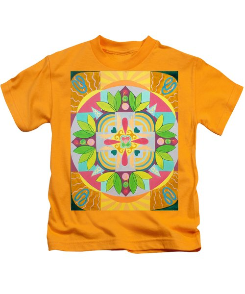 Tropical Mandala Kids T-Shirt