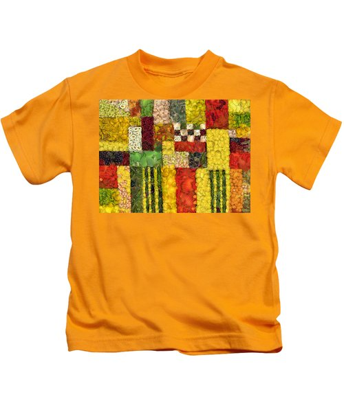 Vegetable Abstract Kids T-Shirt