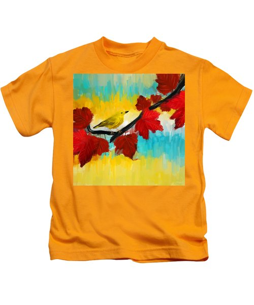 Vividness Kids T-Shirt by Lourry Legarde
