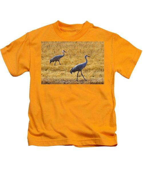 Walk This Way Kids T-Shirt