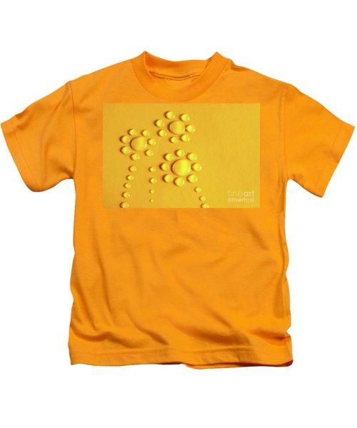 Water Flowers Kids T-Shirt