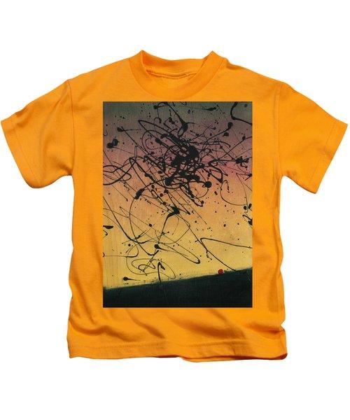 While Sisyphus Slept Kids T-Shirt