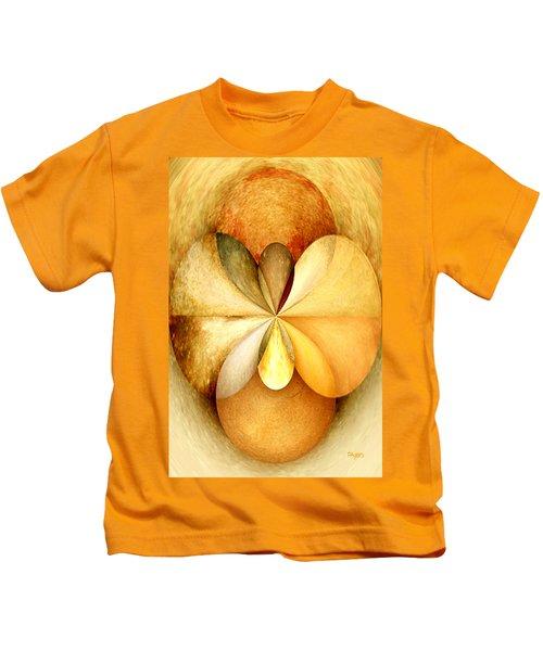 Wood Study 01 Kids T-Shirt