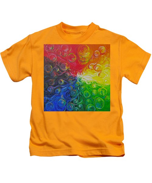Birth Of Color Kids T-Shirt