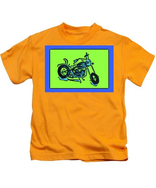 Motorbike 1c Kids T-Shirt
