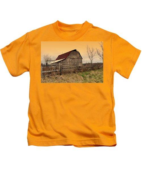 Ozark Barn 1 Kids T-Shirt