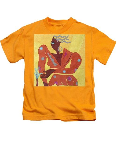 Dancer At Rest #2 Kids T-Shirt