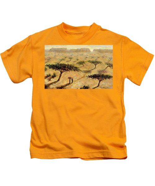 Sahelian Landscape Kids T-Shirt