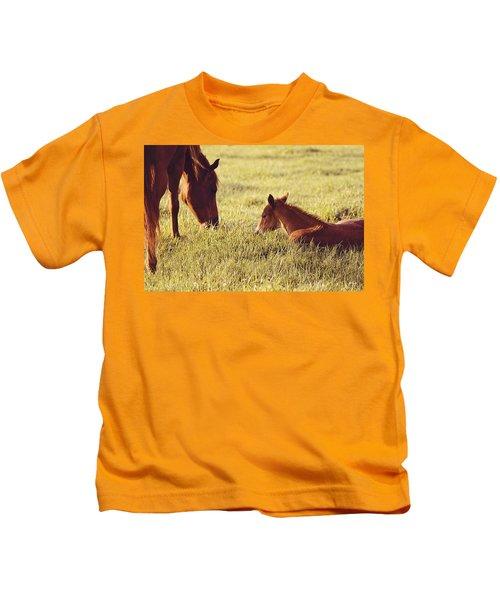 Tender Moments Kids T-Shirt