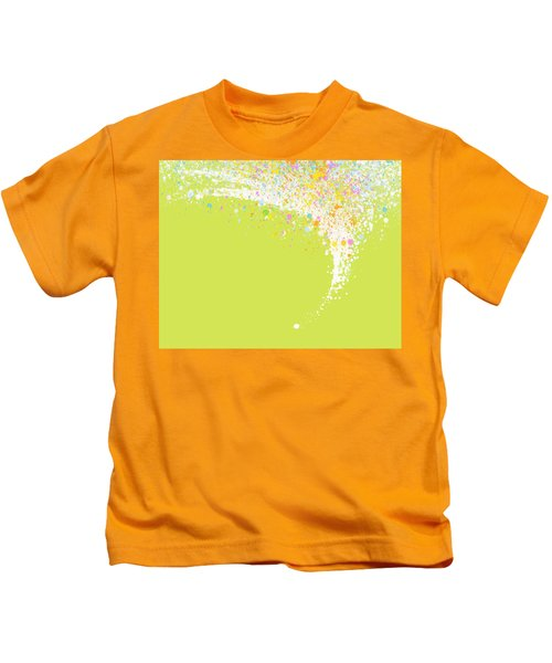 Abstract Curved Kids T-Shirt