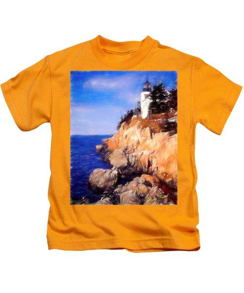 Bass Harbor Lighthouse,acadia Nat. Park Maine. Kids T-Shirt