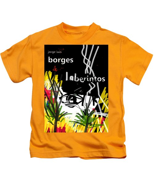 Borges' Labyrinths Poster Kids T-Shirt