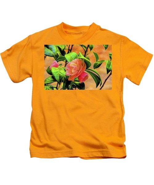 Camellia Candy Kids T-Shirt
