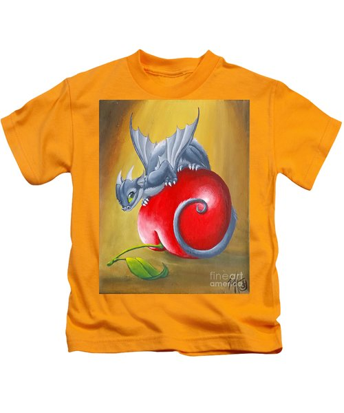 Cherry Dragon Kids T-Shirt