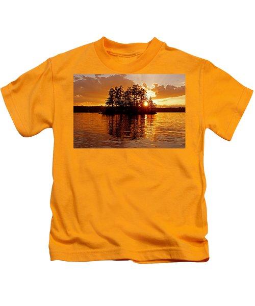 Clarity Of Spirit Kids T-Shirt