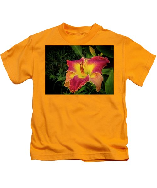 Colorful Lily  Kids T-Shirt