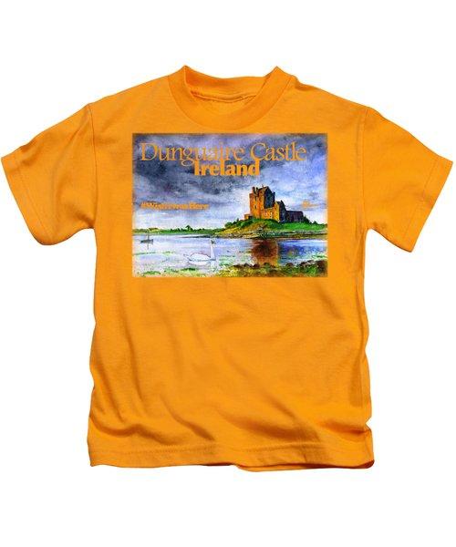 Dunguaire Castle Ireland Kids T-Shirt