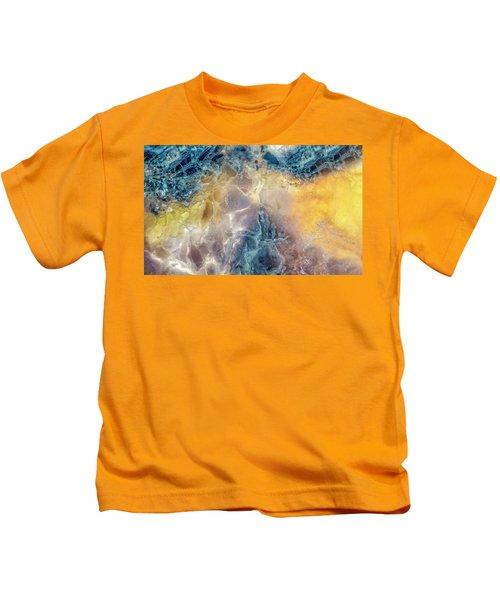 Earth Portrait Kids T-Shirt