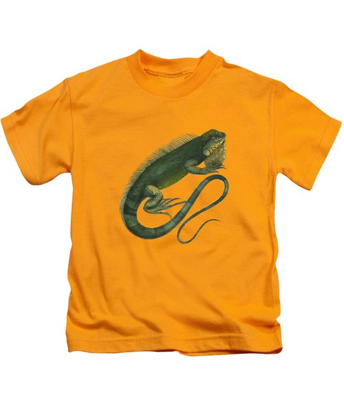 Green Iguana Kids T-Shirt