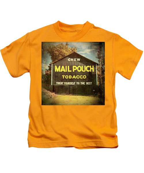 Mail Pouch Barn - Oh 93 #4 Kids T-Shirt