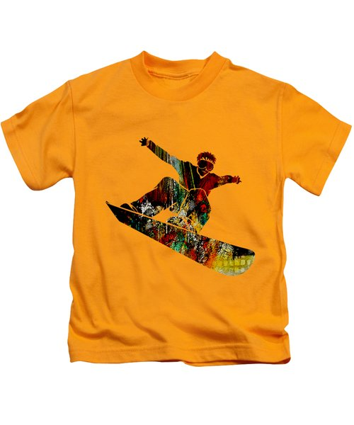 Snowboarder Collection Kids T-Shirt