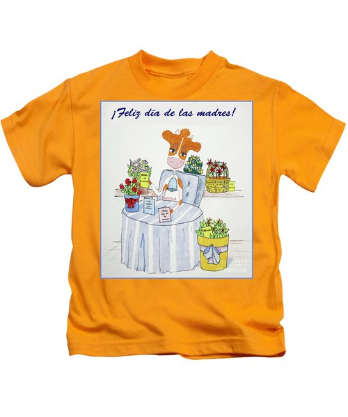 Spanish Moothers Day 2 Kids T-Shirt