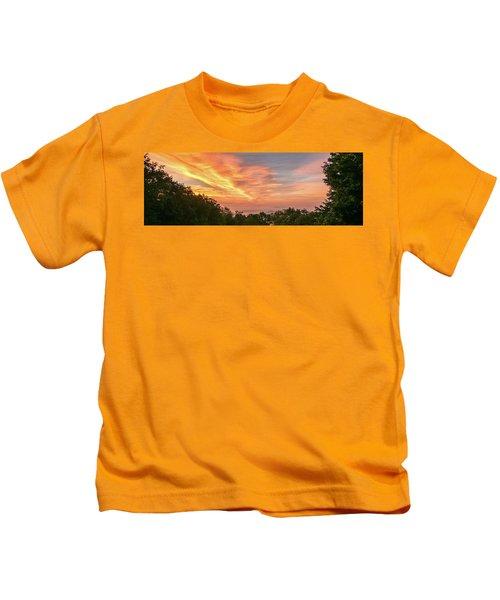 Sunrise July 22 2015 Kids T-Shirt