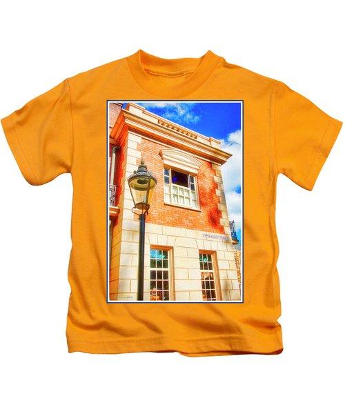 United Kingdom Pavilion, Epcot, Walt Disney World Kids T-Shirt