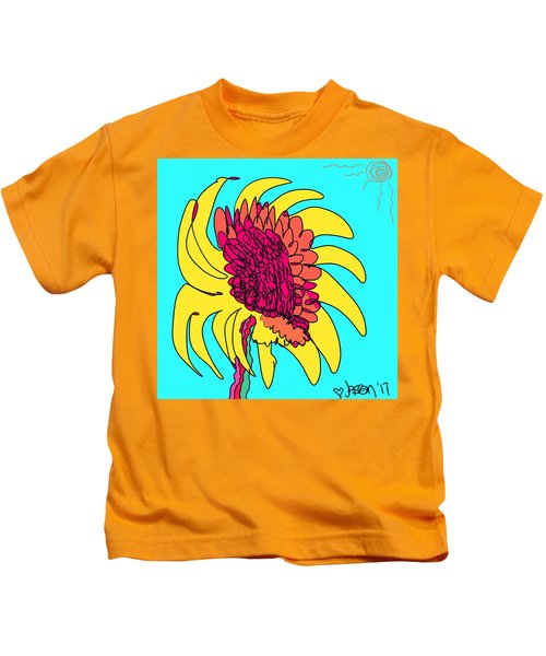 Yes. This Is A Flower, Child Kids T-Shirt