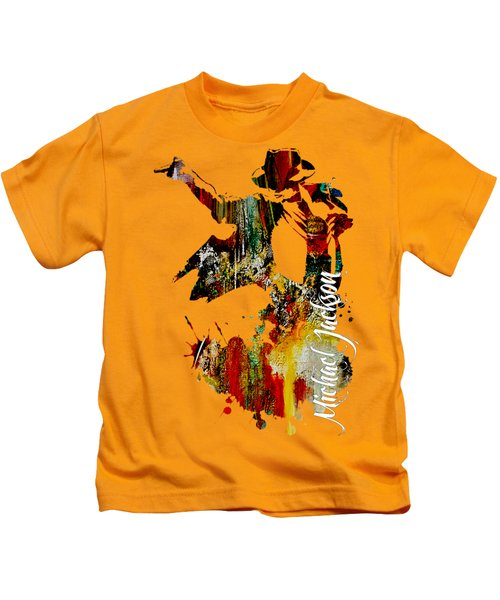 Michael Jackson Collection Kids T-Shirt