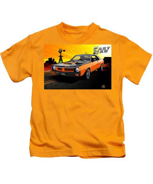1970 Javelin Kids T-Shirt