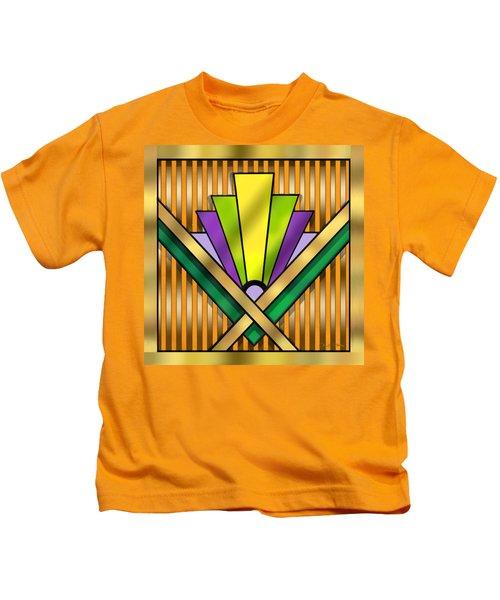 Art Deco 14 Transparent Kids T-Shirt