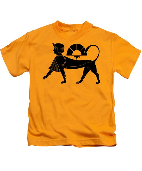 Sphinx - Mythical Creature Of Ancient Egypt Kids T-Shirt