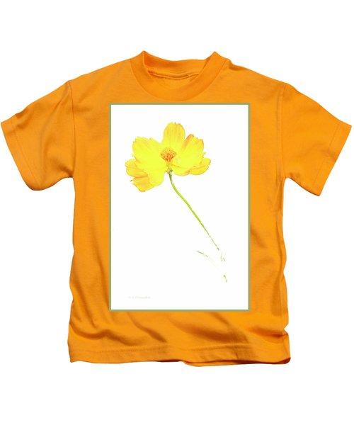 Cosmos Flower Kids T-Shirt