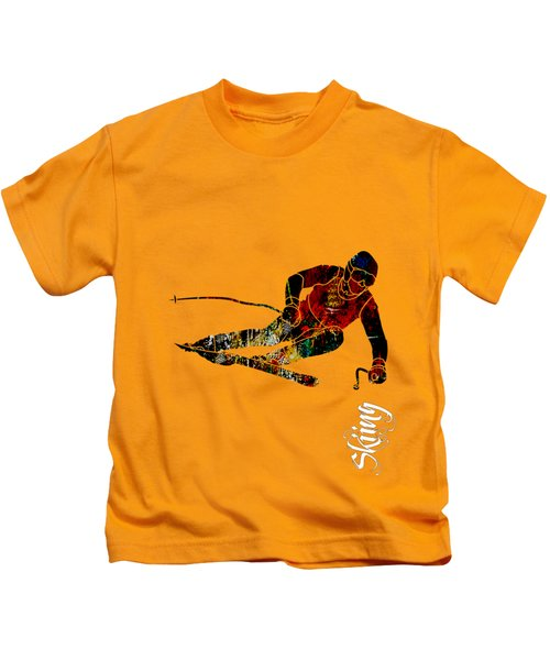 Skiing Collection Kids T-Shirt