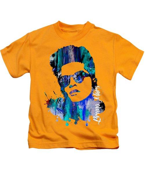 Bruno Mars Collection Kids T-Shirt