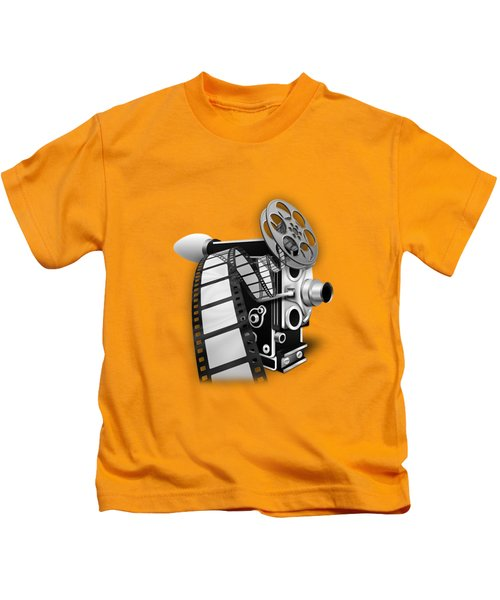Movie Room Decor Collection Kids T-Shirt