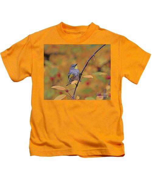 Yellow-rumped Warbler Kids T-Shirt