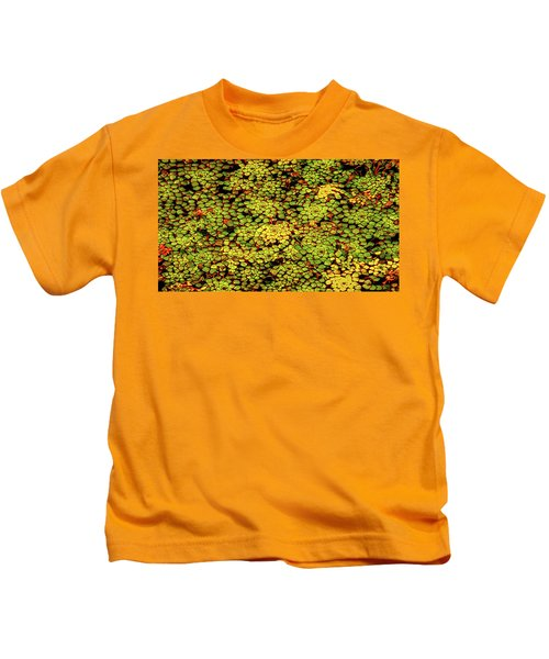 A Botanical Mosaic Kids T-Shirt