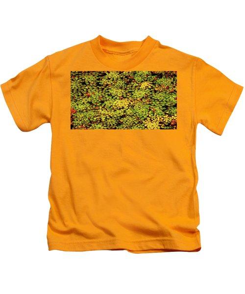A Botanical Mosaic Kids T-Shirt