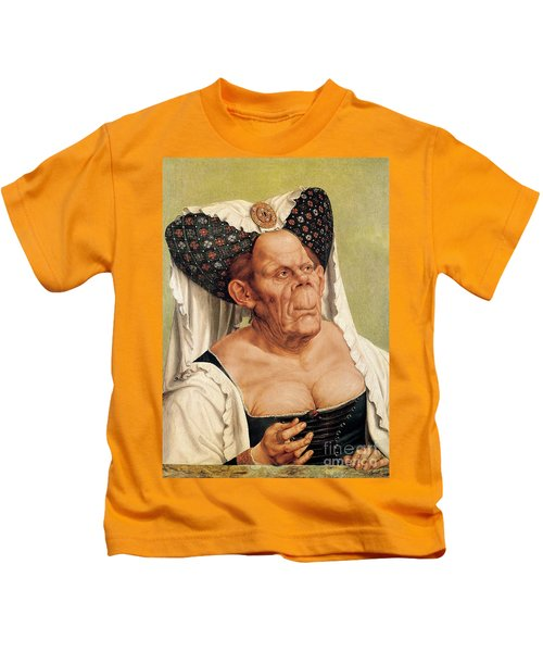 A Grotesque Old Woman Kids T-Shirt