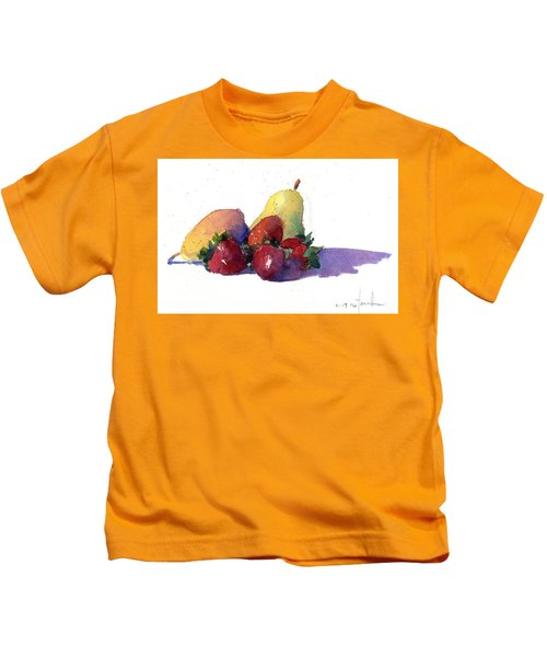Still Life With Pears Kids T-Shirt