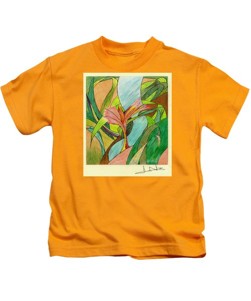 A River Runs Through Kids T-Shirt