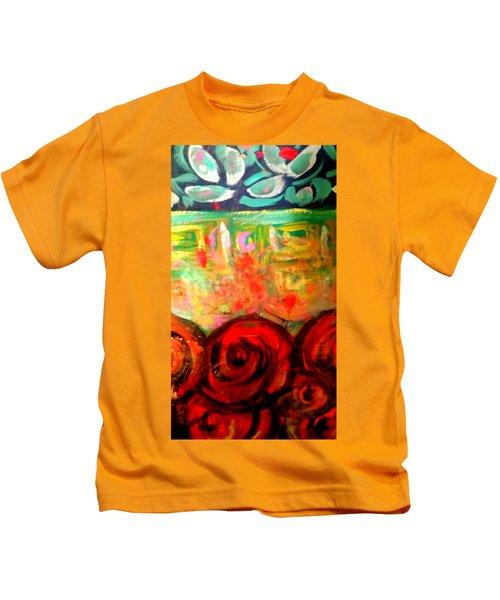 A Rose Is A Rose Kids T-Shirt