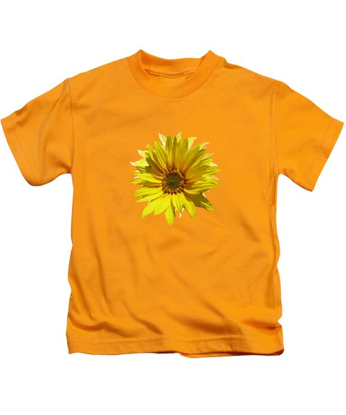 A Vase Of Sunflowers Kids T-Shirt
