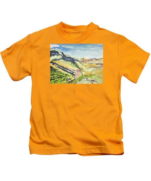Abstract Hillside Kids T-Shirt