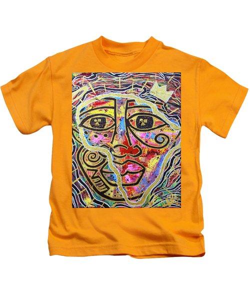 Africa Center Of The World Kids T-Shirt