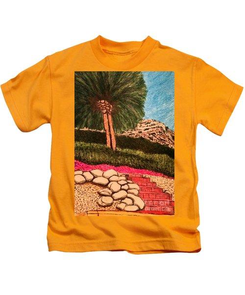 Along Canyon Drive Kids T-Shirt